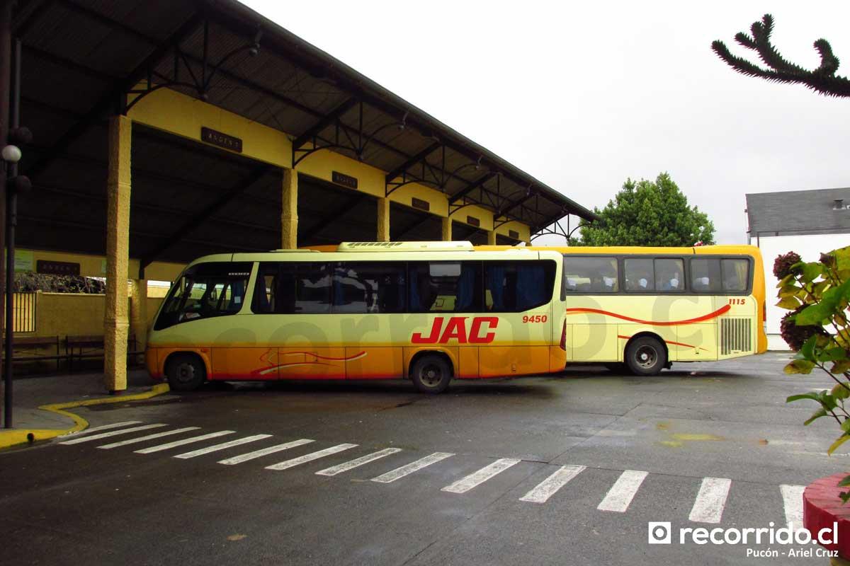 Terminal Pucón - JAC - 2