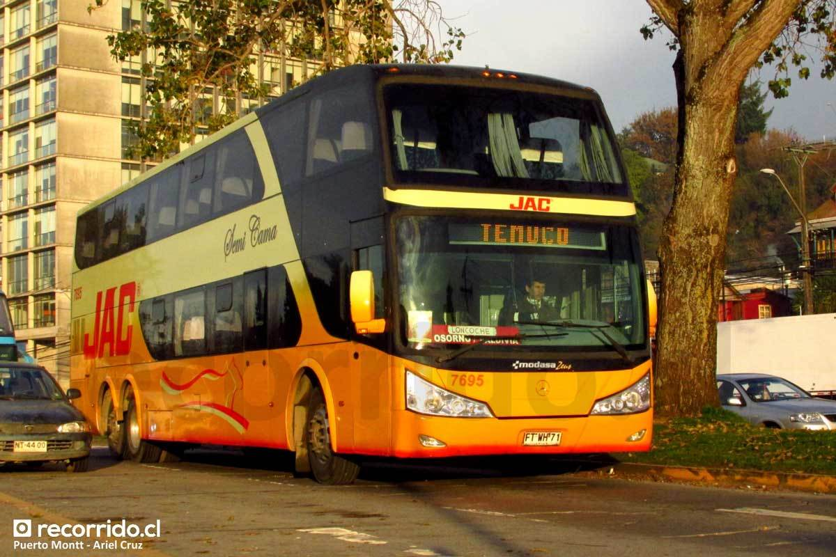 Buses JAC - 8